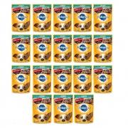 Kit com 18 - Alimento úmido Pedigree Raças Pequenas Sachê Sabor Carne ao Molho para Cães Adultos - Mars (100g)