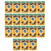 Kit com 18 - Alimento úmido Pedigree Raças Pequenas Sachê Sabor Cordeiro ao Molho para Cães Adultos - Mars (100g)