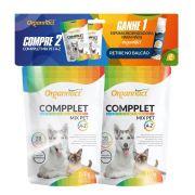 Kit com 2 Suplemento Compplet Mix Pet A-Z para Cães e Gatos (120g cada) + Espuma Higienizadora - Organnact