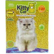 Kitty Cat Granulado Sanitário de Madeira para Gatos (1,5kg)