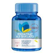 Megatrat 6.3 Quelato - Suplemento vitamínico e mineral com Omega 3 e 6 para Cães - Nutri & Trat Centagro (60 cápsulas)