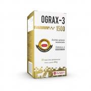 Ograx 3 1500 - Suplemento Nutricional composto por ácidos graxos essenciais para Cães - Avert (30 cápsulas)