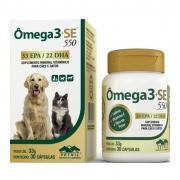 Ômega 3 + SE 550 - Suplemento Mineral Vitamínico para cães e gatos (30 cápsulas) - Vetnil