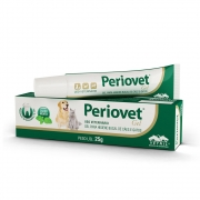 Periovet Gel à base de Clorexidina para higienização oral de Cães e Gatos - Vetnil (25 g)