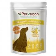 Pet Vegan Bifinhos Maracujá e Camomila Acalma e Relaxa Naturalmente Gluten Free - Petisco Vegano Cães (300g)