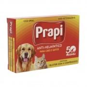 Prapi - Vermífugo para Cães e Gatos - Coveli (4 comprimidos)