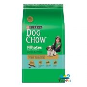 Ração Dog Chow Carne e Arroz para Cães Filhotes de Raças Pequenas - Nestlé Purina (3 kg)