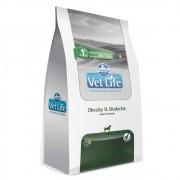 Ração Farmina Vet Life Obesity & Diabetic para Cães Adultos Obesos e/ou com diabetes (10,1 kg)