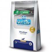 Ração Farmina Vet Life UltraHypo Mini Breeds Cães Adultos Pequenos Hipersensibilidade ou Intolerância alimentar (2kg)
