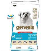 Ração Gênesis para Cães de Raças Pequenas Filhotes e Adultos - Premiatta (3 kg)