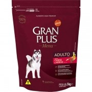 Ração Gran Plus Cães Adultos Carne e Arroz (3 kg) - Affinity Guabi