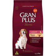 Ração Gran Plus Cães Adultos Light Frango e Arroz (15 kg) - Affinity Guabi