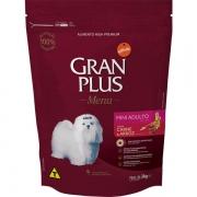 Ração Gran Plus Cães Adultos Miniaturas e Pequenos Carne e Arroz (3 kg) - Affinity Guabi