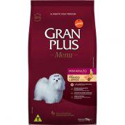 Ração Gran Plus Cães Adultos Miniaturas e Pequenos Frango e Arroz (15 kg) - Affinity Guabi