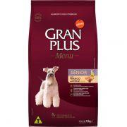 Ração Gran Plus Cães Senior Frango e Arroz para Cães com mais de 7 anos (15 kg) - Affinity Guabi