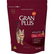 Ração Gran Plus Gatos Adultos Carne e Arroz (3 kg) - Affinity Guabi