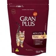 Ração Gran Plus Gatos Adultos Frango e Arroz (1 kg) - Affinity Guabi