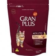 Ração Gran Plus Gatos Adultos Frango e Arroz (3 kg) - Affinity Guabi