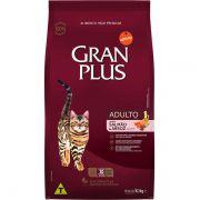 Ração Gran Plus Gatos Adultos Salmão e Arroz (10 pacotes individuais de 1kg cada) - Affinity Guabi