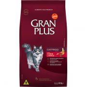 Ração Gran Plus Gatos Castrados Carne e Arroz (10,1 kg) - Affinity Guabi