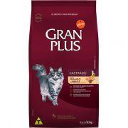 Ração Gran Plus Gatos Castrados Frango e Arroz (10,1 kg) - Affinity Guabi