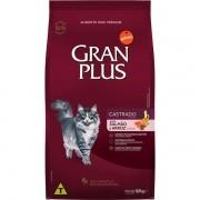 Ração Gran Plus Gatos Castrados Salmão e Arroz (10,1 kg) - Affinity Guabi