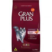 Ração Gran Plus Gatos Castrados Salmão e Arroz (10 pacotes individuais de 1kg cada) - Affinity Guabi