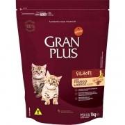 Ração Gran Plus Gatos Filhotes Frango e Arroz (1 kg) - Affinity Guabi