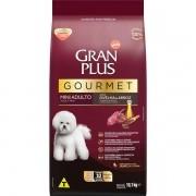 Ração Gran Plus Gourmet Cães Adultos Miniaturas e Pequenos Ovelha e Arroz (10 pacotes de 1 kg cada) - Affinity Guabi