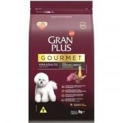 Ração Gran Plus Gourmet Cães Adultos Miniaturas e Pequenos Ovelha e Arroz (3 kg) - Affinity Guabi