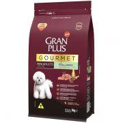 Ração Gran Plus Gourmet Cães Adultos Miniaturas e Pequenos Peru e Arroz (3 kg) - Affinity Guabi