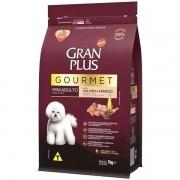 Ração Gran Plus Gourmet Cães Adultos Miniaturas e Pequenos Salmão e Frango (1 kg) - Affinity Guabi