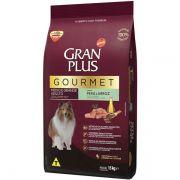 Ração Gran Plus Gourmet Cães Adultos Peru e Arroz para Raças Médias e Grandes (15 kg) - Affinity Guabi