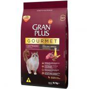 Ração Gran Plus Gourmet Gatos Castrados Ovelha e Arroz (10,1 kg) - Affinity Guabi