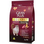 Ração Gran Plus Gourmet Gatos Castrados Ovelha e Arroz (1 kg) - Affinity Guabi