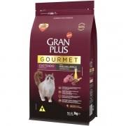 Ração Gran Plus Gourmet Gatos Castrados Ovelha e Arroz (3 kg) - Affinity Guabi