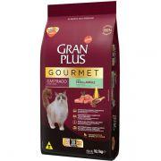 Ração Gran Plus Gourmet Gatos Castrados Peru e Arroz (10 pacotes de 1 kg cada) - Affinity Guabi
