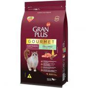 Ração Gran Plus Gourmet Gatos Castrados Peru e Arroz (3 kg) - Affinity Guabi
