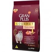 Ração Gran Plus Gourmet Gatos Castrados Salmão e Frango (10,1kg) - Affinity Guabi