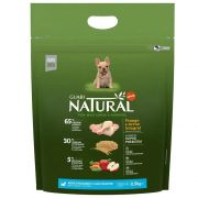 Ração Guabi Natural Cães Filhotes Miniaturas e Pequenos Frango e Arroz Integral (2,5 kg) - Affinity Guabi