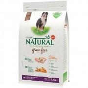 Ração Guabi Natural Grain free Cães Adultos Médios Frango e Lentilha (2,5 kg) - Affinity Guabi