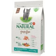 Ração Guabi Natural Grain free Gatos Castrados Salmão e Lentilha (1,5 kg) - Affinity Guabi