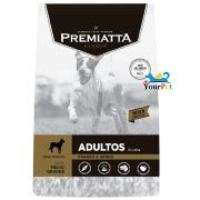 Ração Premiatta Classic para Cães Adultos de Raças Médias e Grandes (15 kg)