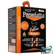 Ração Premiatta Feline Aves para Gatos Adultos - Premiatta (2 kg)