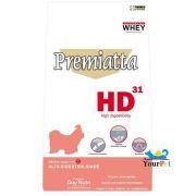 Ração Premiatta HD 31 Raças Miniaturas para Cães Adultos (3 kg)