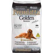 Ração Premiatta Raças Específicas Golden Retriever para Cães Adultos (10,5 Kg = 30 x 350g cada)