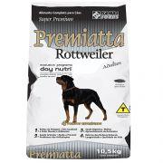 Ração Premiatta Raças Específicas Rottweiler para Cães Adultos (10,5 Kg - 30 embalagens com 350g cada)