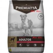 Ração Premiatta Sabores Bife Acebolado Mini Bits (Grãos Pequenos) para Cães Adultos - Gran Premiatta (15 kg)