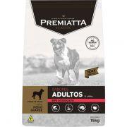 Ração Premiatta Sabores Bife Acebolado para Cães Adultos de Raças Médias e Grandes - Gran Premiatta (15 kg)