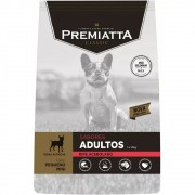 Ração Premiatta Sabores Bife Acebolado para Cães Adultos de Raças Miniaturas e Pequenas - Gran Premiatta (3kg)